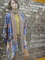 ROWAN FINE ART ACCESSORIES COLLECTION  KNITTING PATTERN BOOK -
